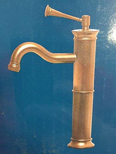 PEGASUS Traditional Single Hole 1-Handle Mid Arc Bathroom Vessel Faucet in Heritage Bronze