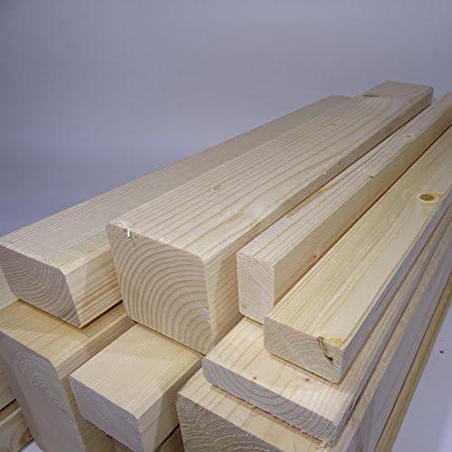 Ein Rahmenholz gehobelt unbehandelt Fichte Breite//H/öhe//L/änge 42mm x 42mm x 2000mm 5,49/€//Lfm Latten Kantholz Zaun Garten Holz Brett Balken Leiste