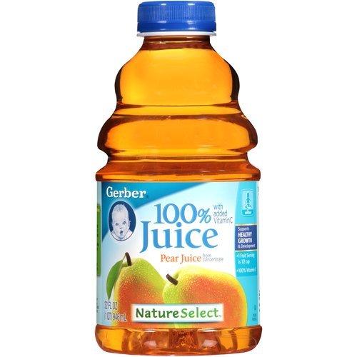 Gerber Nature Select Baby 100% Fruit Juice 32 Fl Oz (Pack of...