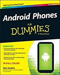 A colorful guide to make your Android phone do your bidding The popularity of Android phones is simply exploding, so it's a perfect time for popular For Dummies author Dan Gookin to update his bestselling guide to all things Android phones. F...