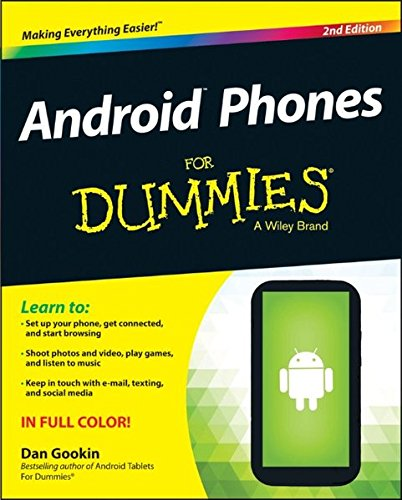 Android Phones For Dummies (Used Ice Cream Machine For Sale Uk)