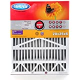 BestAir A201-SGM-BOX-11R Furnace Filter, 20 x 25 x 6, Aprilaire Replacement, MERV 11
