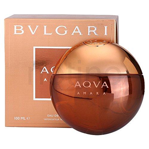 Bvlğari Aqva Amara Eau De Toilette Spray for men 3.4 FL. OZ/100 ML.