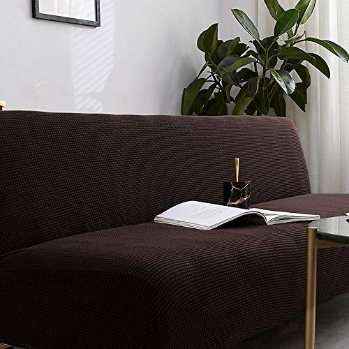Sofá cama plegable simple de 155-185 cm con color café y café todo ...