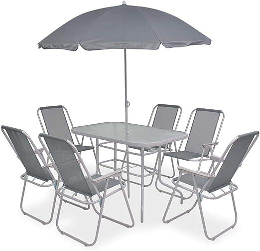 mesa y silla d patio amazon