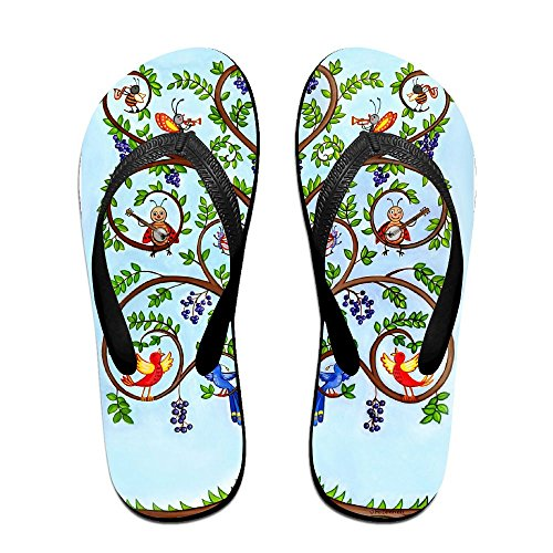 for Women PTJHKET Men Kids Tree Flip Life Slippers of Flops 0ZF0YqP