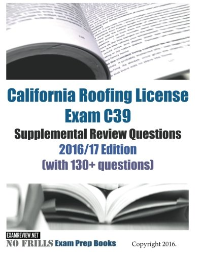 Top 10 roofing license books