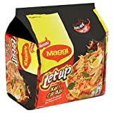 Maggi Letup Kari Cili Api/Springy Noodles With Fiery Red Dried Chilies & Real Curry Spices/Tongue Numbing Spicy Broth/Intensely Insanely Hot To The Last Strand/Flare Up Your Tastebuds/10 x110g