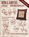 img - for Mother and Baby Bee Hand Embroidery Patterns book / textbook / text book