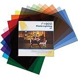 Rosco Photo Lighting Filter Kit, 12 x 12'' Sheets