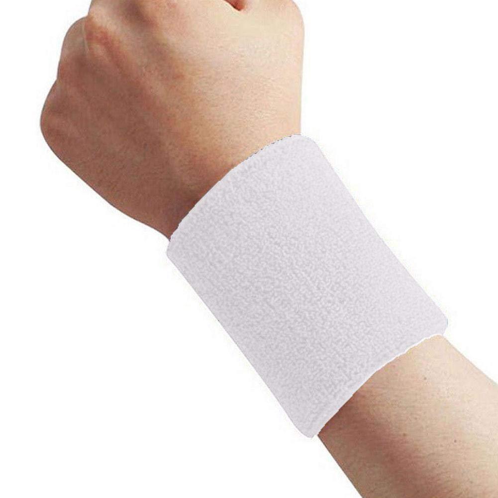 Timmershabi Wristband Sport Yoga Running Basketball Cotton Wrist Band Sweat Band Sweatband