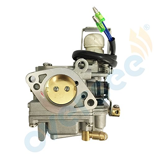 OVERSEE 65W-14901 Outboard Carburetor for Yamaha PARSUN Outboard Motor 4 Stroke 20HP 25HP F20 F25 horsepower, CARBURETOR CARB ASSY, Boat Motor Carburetor Assy, Aftermarket Parts 65W-14901-10/11/12
