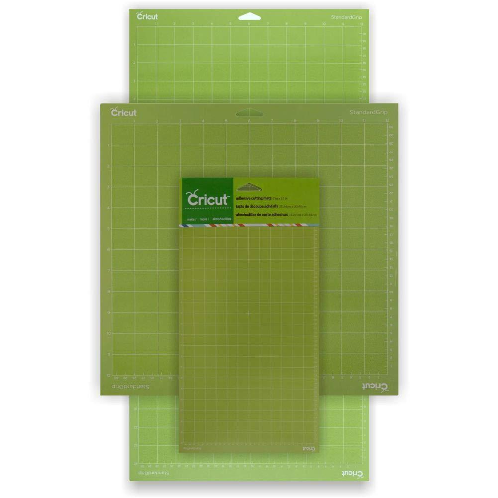 Cricut Standardgrip Adhesive Cutting Mats Bundle - Тhree Different Size Cricut Mats