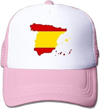 Voxpkrs Bandera de España Mapa Ajustar Gorras de béisbol Gorra perseguidor Gorro de papá U8I001829: Amazon.es: Deportes y aire libre