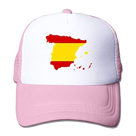 Voxpkrs Bandera de España Mapa Ajustar Gorras de béisbol Gorra ...