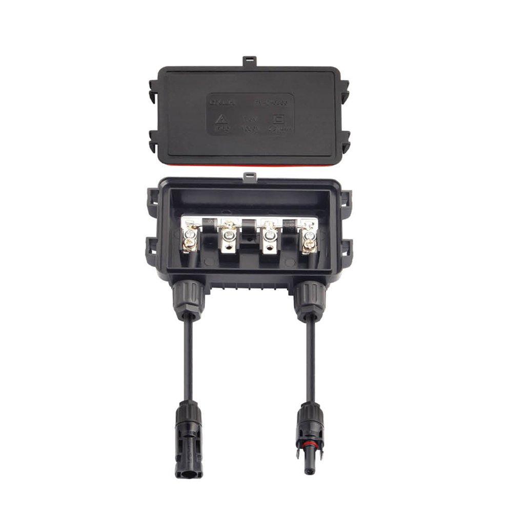 MagiDeal Solar Anschlussdose PV Stecker Mit 3 Dioden Fü r Solarpanel 100-180w 6A