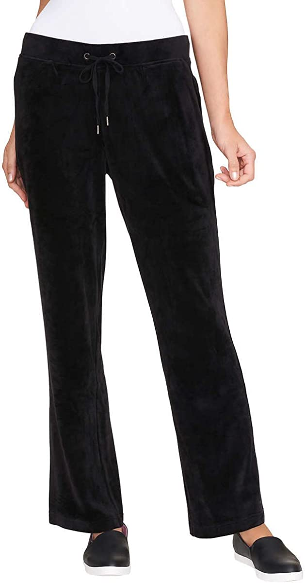 Gloria Vanderbilt Ladies' Jemma Ultra Soft Velour Pants: Clothing