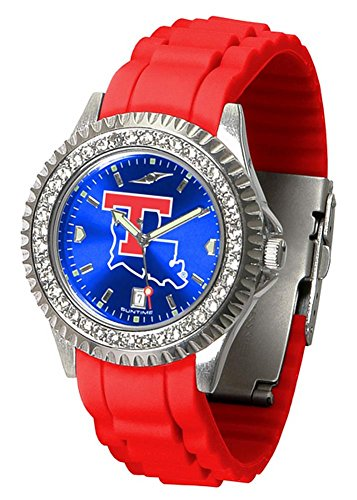 Tech Watch Bulldogs Louisiana Sport (New Linkswalker Ladies Louisiana Tech Bulldogs Sparkle Watch)