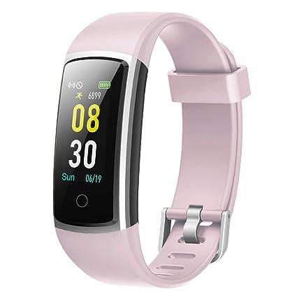 prix de détail dernière sélection très convoité gamme de YAMAY Montre Connectée Femmes Homme Smartwatch Tensiometre Bracelet  Connecté Cardiofrequencemetre Podometre Etanche IP68 Smart Watch Tension ...