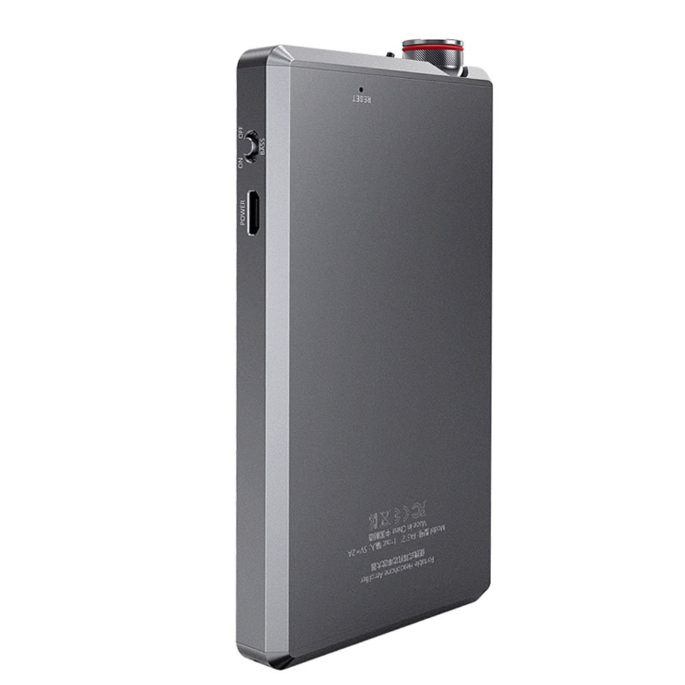 FiiO A5 Portable Headphone Amplifier, Titanium