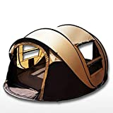 RoseSummer Camping Tent Automatic Speed Open Large 5~6 People Camping Tents