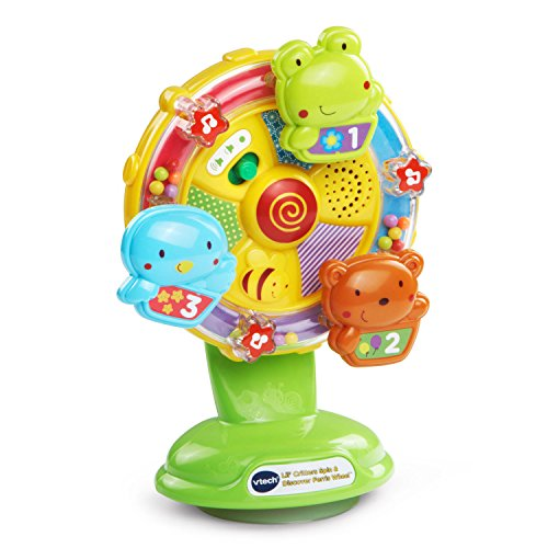 VTech Baby Lil' Critters Spin and Discover Ferris Wheel (Month 7 Old Toys Baby Girl)