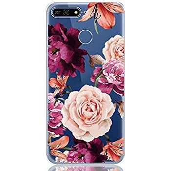 Amazon.com: kwmobile Cover for Huawei Y6 (2018) - Shockproof ...