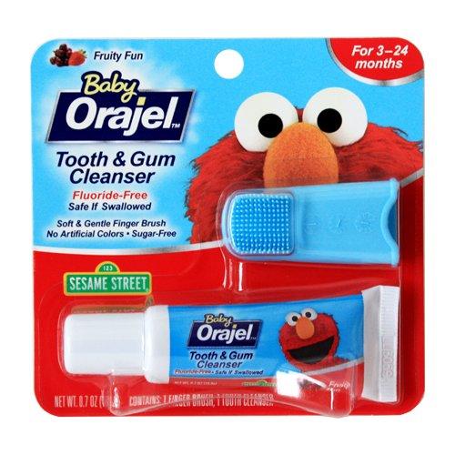 Bébé Orajel Sesame Street Elmo Tooth / Gum Cleanser Case Pack 6