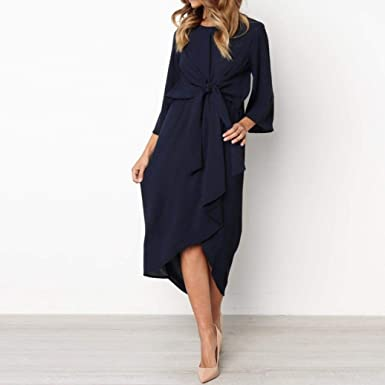 POLP Vestidos Cortos Mujer ◉ω◉ Cinturones de Mujer para Vestidos, Tallas Grandes Vestidos, Ropa otoño Mujer, Vestido Manga Larga Mujer, Vestidos otoño, ...