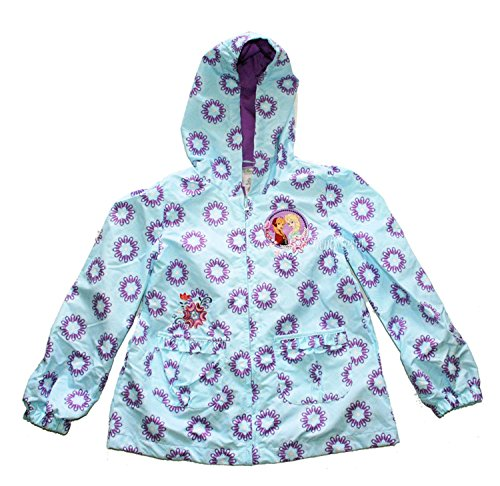 Disney Frozen Elsa and Anna Little Girls' Raincoat
