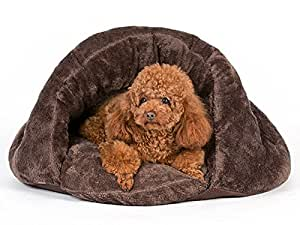 Amazon Com Pls Pet Cuddle Pouch Pet Bed Medium Bag