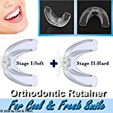 High-tech Dental Orthodontic Braces - Transparent Soft and Hard - For Adults Teeth Straightening