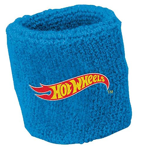 - Fast Riding Hot Wheels Wild Racer Birthday Party Sweat Band Favours, Multi Colored, Fabric, 2 3/4