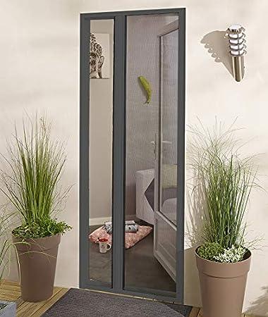 Maldeco - Mosquitera enrollable lateral de aluminio: Amazon.es: Hogar