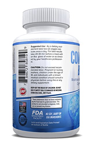CompleteBrain: Powerful Nootropic and Brain Supplement - Improves Memory, Mood, Focus, Clarity and Creativity 30 Servings by eXplicit Supplements (Image #1)