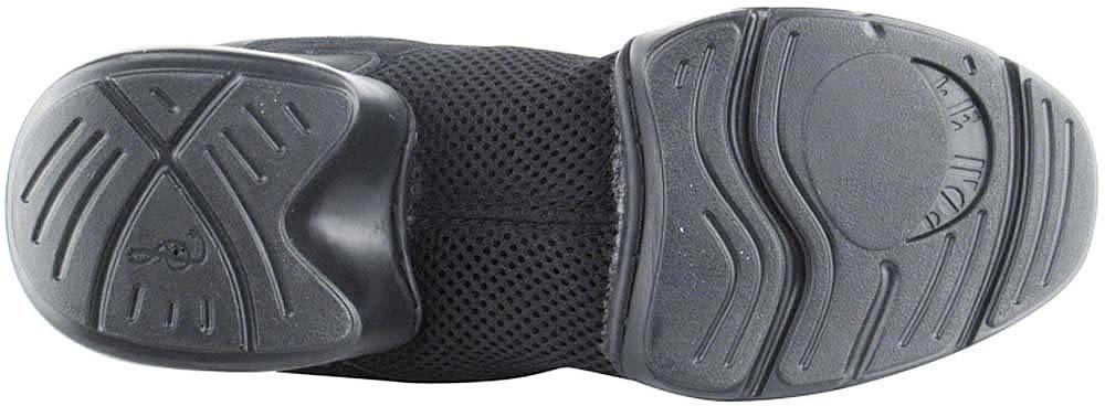 Bundle- 4 items - Very Fine Mens Womens Unisex Practice Dance Sneaker Split Sole VFSN008 Pouch Bag Sachet, Black 13 M US by Very Fine Dance Shoes (Image #7)