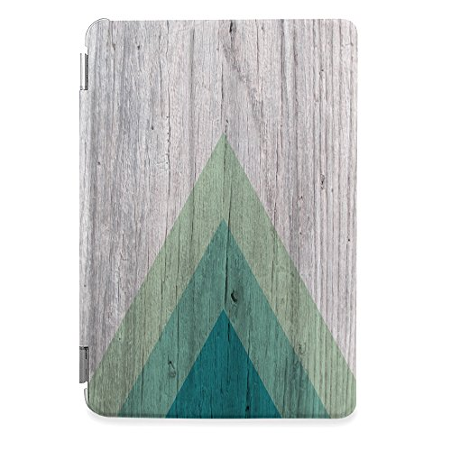 CasesByLorraine Apple iPad Mini 4 Case, Geometric Wood Print