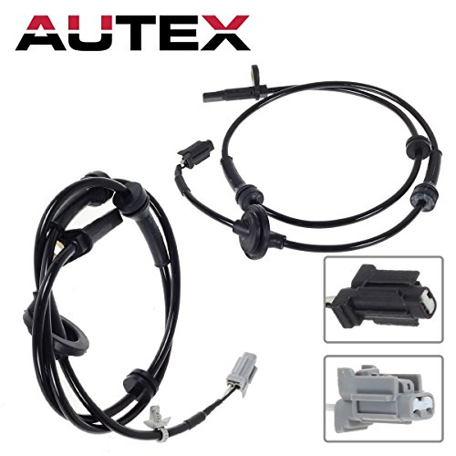 AUTEX 4pcs ABS Wheel Speed Sensor For 2004-2008 Nissan Maxima 3.5L(Rear Front)