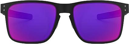 TALLA 55. Oakley Hombre Holbrook Gafas de Sol metálicas, Negro