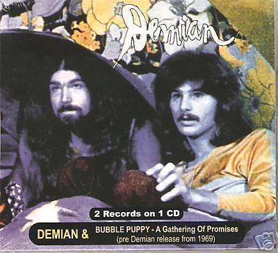 (Demian - S/t & Bubble Puppy: A Gathering..(digipak) by Demian (2008-05-03))