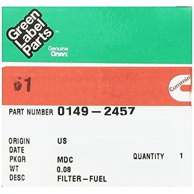 Cummins Onan 149-2457 Fuel Filter: Automotive