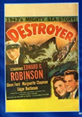 Glenn Ford portrays a Chief Petty Officer in this WWII wartime drama of aging seaman Robinson, shown up by novice Ford, who winds up in a steamy romance with Chapman. Robinson comes through in the end, as he saves the day when the destroyer g...