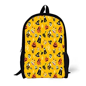 969b6e198375 Amazon.com | Pinbeam Backpack Travel Daypack Halloween Party All ...