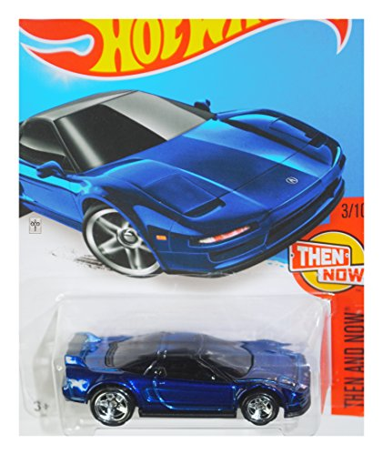 Hot Wheels 2016 Then and Now '90 Acura NSX 103/250, Blue (Super Treasure Hunt)