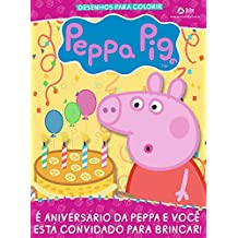 Revista Desenhos Para Colorir - Peppa Pig