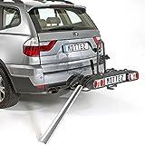 Porte-Vélos Plateforme Rabattable / Pliable 2 Vélos électriques - Mottez A023P2ELEC