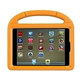 Apple iPad Mini 4 Case - iPad Mini 4 Covers for Kids - Lmaytech Light Weight Portable Shockproof Super Protection Handle Stand Cover for iPad Mini 4 (Mini-4 - Orange)