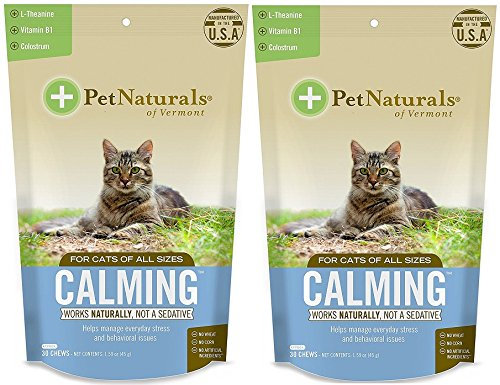 Calming Supplements for Cats Size:Pack of 2 (Best Cat Calming Products)