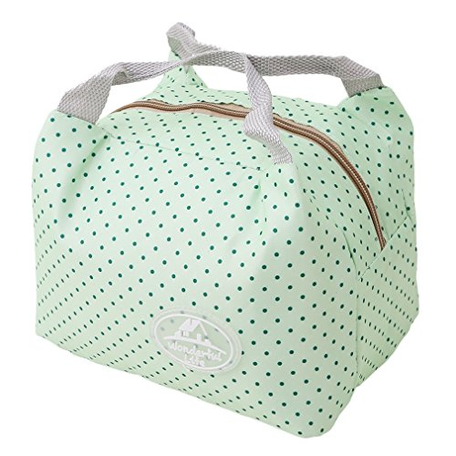- Meolin Oxford Cloth Aluminum Foil Insulated Lunch Bag Lunch Box Package,Green little,7.875.916.30inch