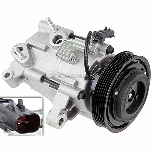 Brand New Premium Quality AC Compressor & A/C Clutch For Jeep Liberty 3.7L V6 - BuyAutoParts 60-01992NA (Dodge Ac Compressor Clutch)